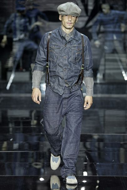 G-Star RAW 2012 Spring Summer Mens Runway Collection: Designer Denim Jeans Fashion: Season Lookbooks, Ad Campaigns and Linesheets