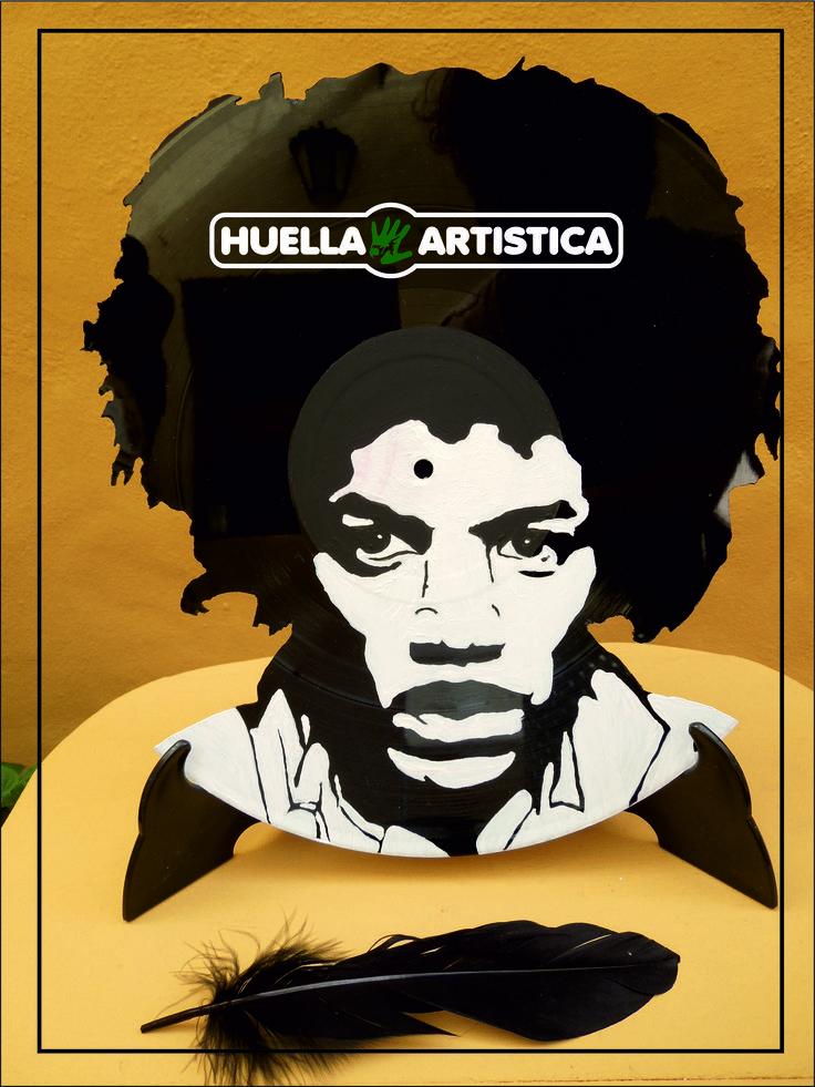 Vinilo Art Huella Artística - Agüimes - GC