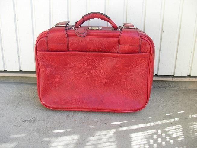 Röd Resväska RETRO på Tradera.com - Resväskor | Väskor | Accessoarer