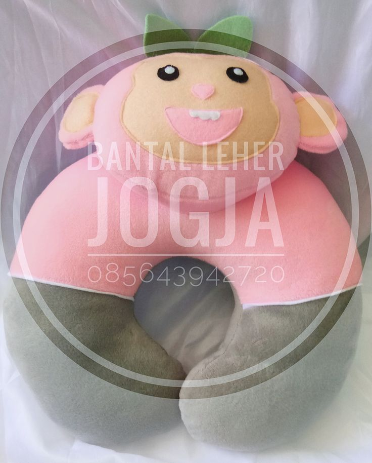 Bantal Leher Jogja Monyet PINK Strong