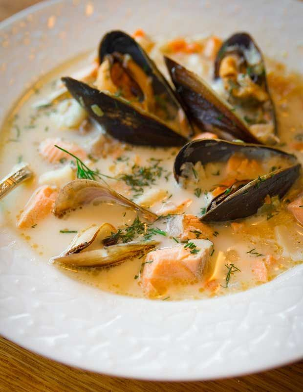 Irish seafood chowder via little french bakery get in for Irish fish recipes