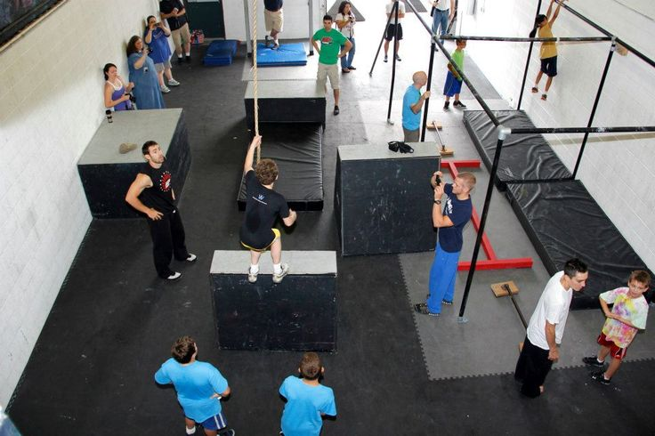 American ninja warrior gyms to train at movement lab