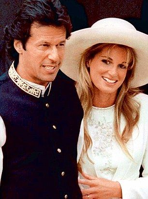 'I hope he will be happy': Jemima Goldsmith, the ex-wife of Imran Khan, has offered her co...