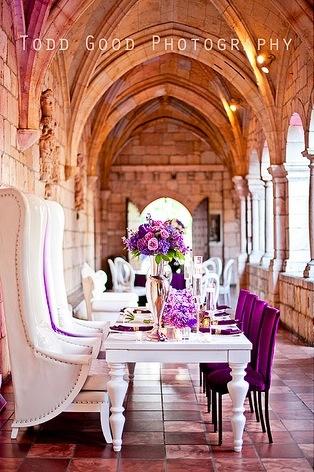 Ancient Spanish Monastery Wedding Fl