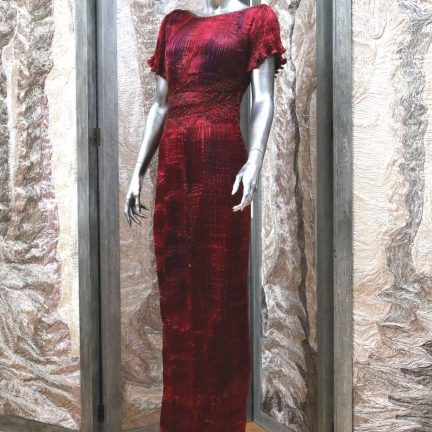 Latest stock in Liberty of London Bespoke Couture Art one-off creations by special order or select from collections in store.  @libertylondon 0423 lauder dress 07w