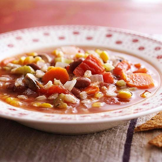 Vegetarian Top Slow Cooker Recipes Vegetable Soup