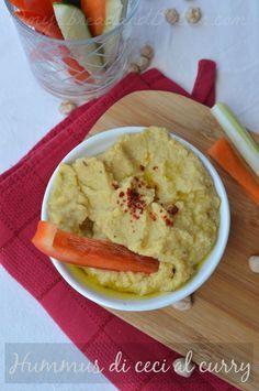 Hummus di ceci al curry