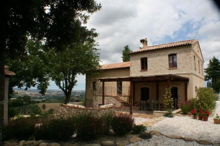 Property for sale in Le Marche, Ancona, Montecarotto, Italy - On a ridge amongst the stunning rolling countryside of this relatively undiscovered Le Marche region of Italy sits this beautifully fully renovated country house. Surrounded by the Verdicchio vineyards and wineries the property is in a commanding position with the most amazing views. http://www.italianhousesforsale.com/view/property-italy/le-marche/ancona/montecarotto/0001678.html