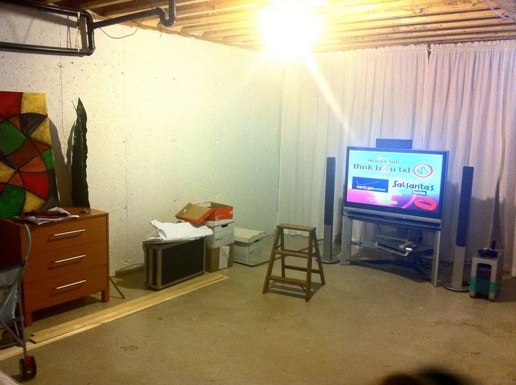 about basement ideas on pinterest unfinished basements basement