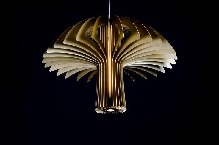 Shroom pendant by Karice. A silver A-Design winner. #lighting #lightingideas #ideas #light #lights #interiordesign