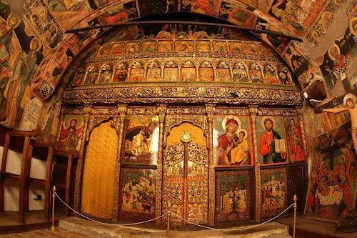 Nativity church of Arbanassi - Bulgaria Visit Arbanassi in the Central Balkan: walking, horse riding, MTB, cultural tours, http://www.aromahoney.com/central-balkan/ #centralbalkan #aromahoney #bulgaria