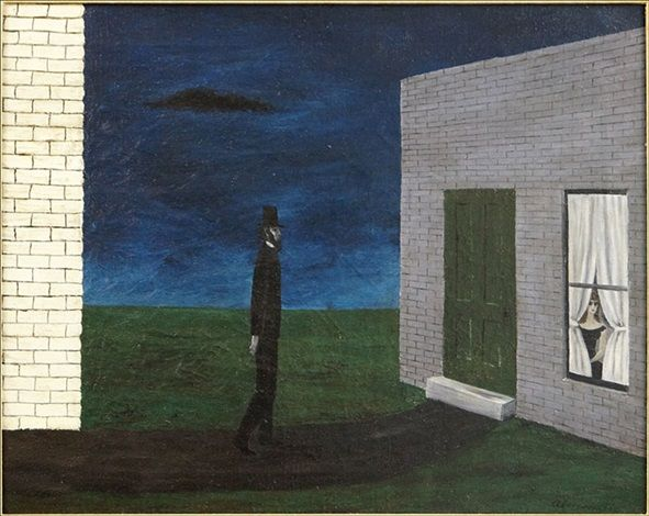 The night visitor by Gertrude Abercrombie