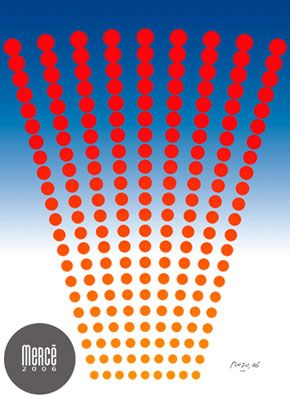 ANUNCIANT: Ajuntament de Barcelona PEÇA: Cartell Festa La Mercè Autor: Vicente Rojo ANY: 2006