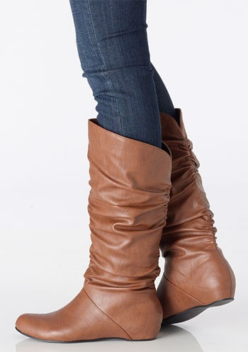 Because I need more slouchy boots in my life.