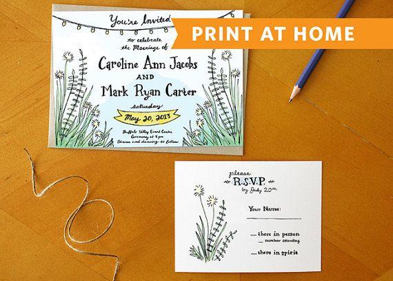 Eine südliche Romanze: Drucken zu Hause von ReadyMakerDesign