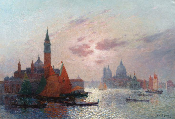 Ferdinand du Puigaudeau - Venise, vue du Grand Canal