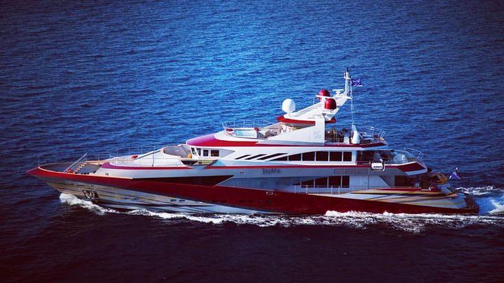 "33 Likes, 1 Comments - SuperYachtFan (@superyachtfan) on Instagram: ""The yacht Joy Me is owned by Philip Zepter. He is a Serbian billionaire residing in Monaco. #joyme…"""