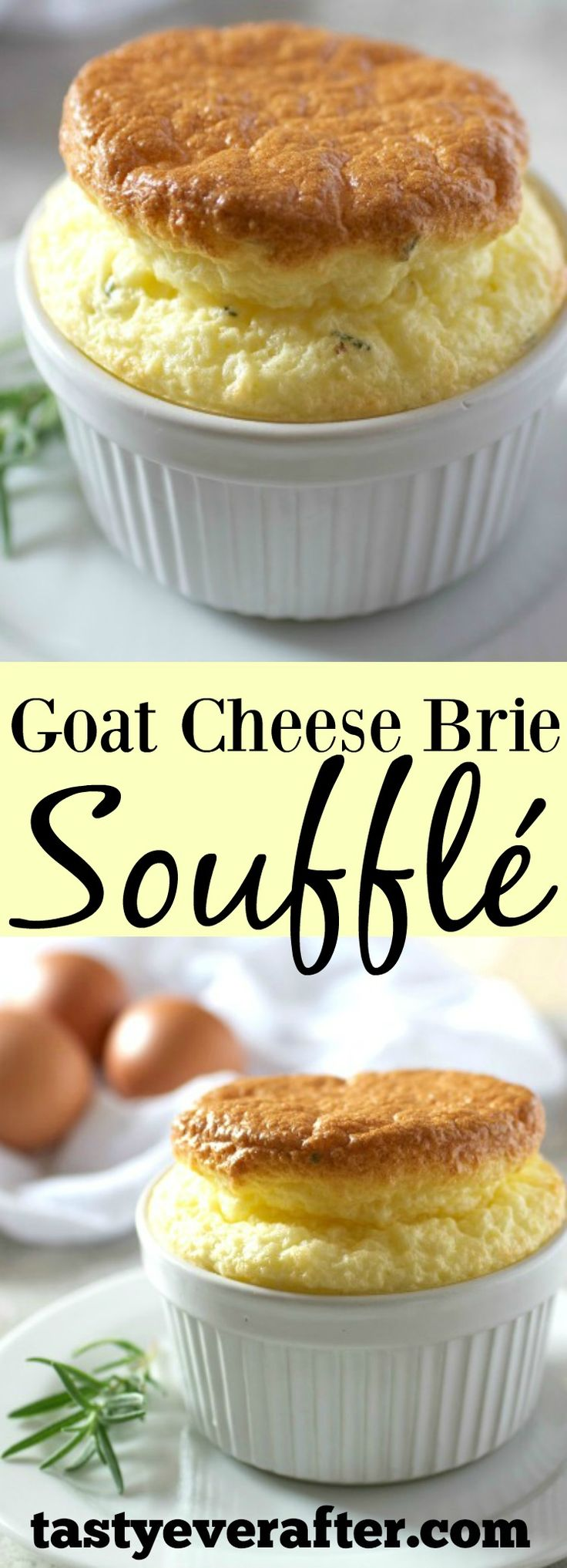 This super easy souffle is perfect for brunch or as a vegetarian main entrée. Batter can even be made a couple of days ahead of time before baking!