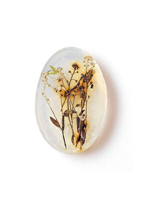 Naturalne owalne- polne kwiaty/Natural oval- wildflowers