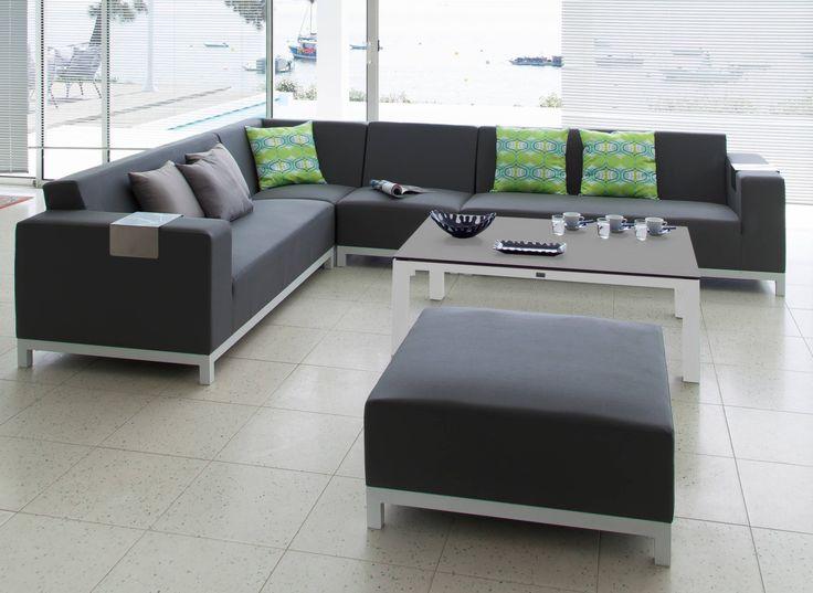 Canapé de jardin panoramique - Proloisirs