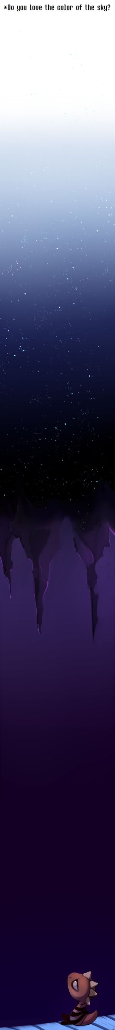 Monster Kid - Do you love the color of the sky? || the feels ;-;