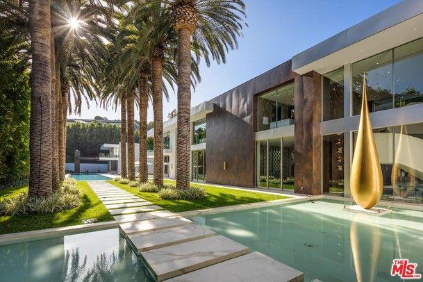 627 Carcassonne Los Angeles California Estados Unidos Casa De Lujo En Venta Bel Air Mansion Mansions Modern Mansion