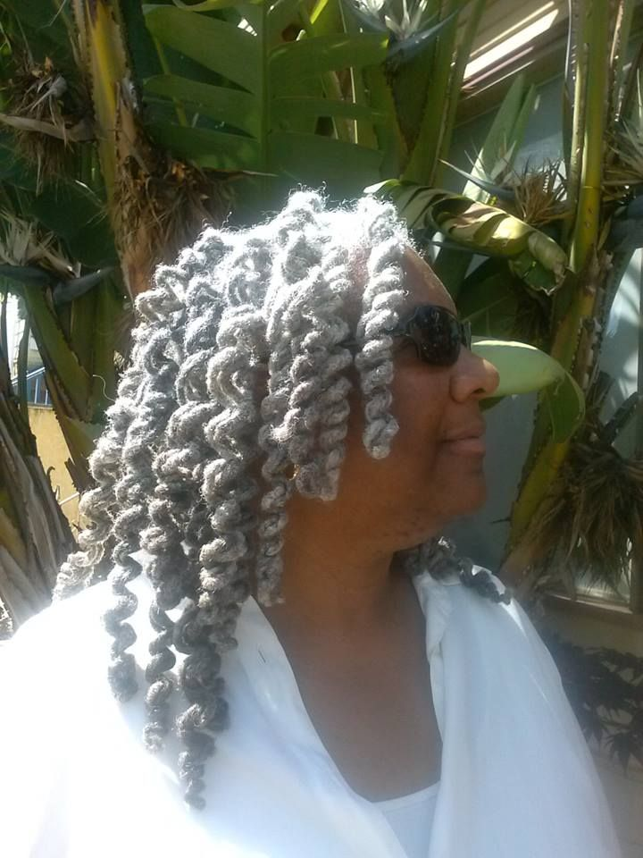 40 Best Images About Salt And Pepper Locs On Pinterest