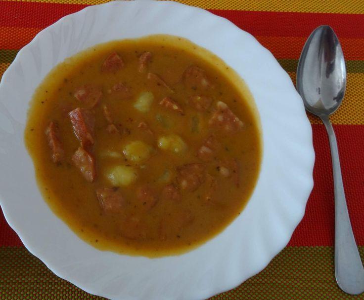 Recept Vuřtovo bramborový guláš od verunka - Recept z kategorie Základní recepty