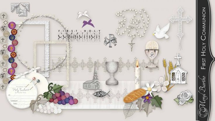 First Holy Communion Elements