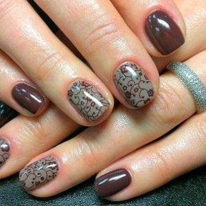 Ногти шеллак фото на короткие ногти технология качественного маникюра