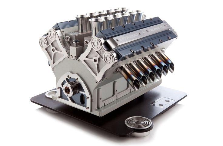 V12 ‹ Espresso Veloce - THE MOST BEAUTIFULLY ENGINEERED ESPRESSO MACHINE IN THE WORLD