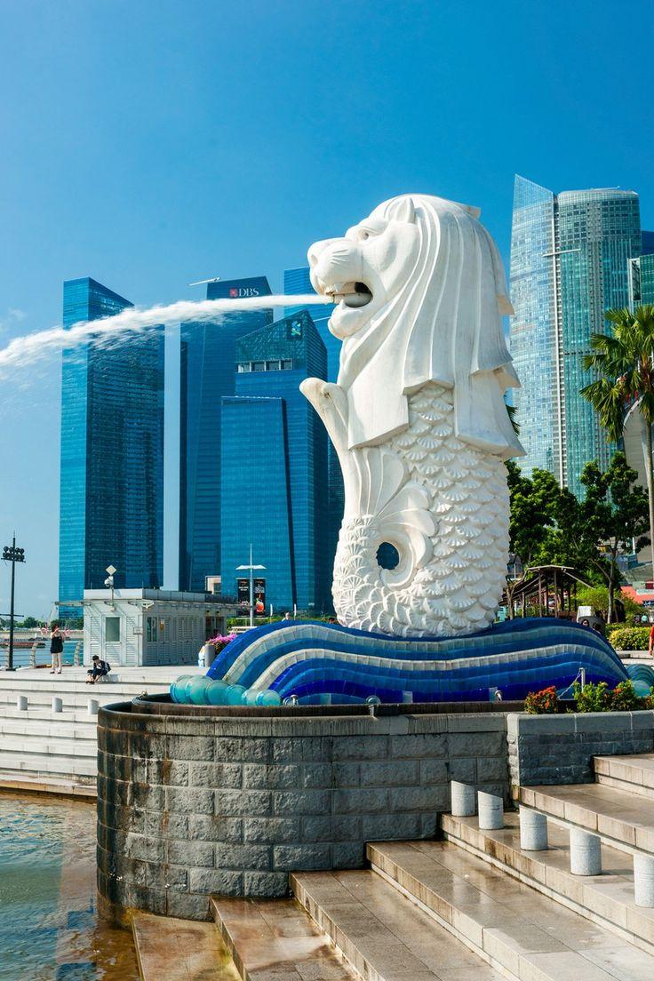 シンガポールのシンボル、マーライオン