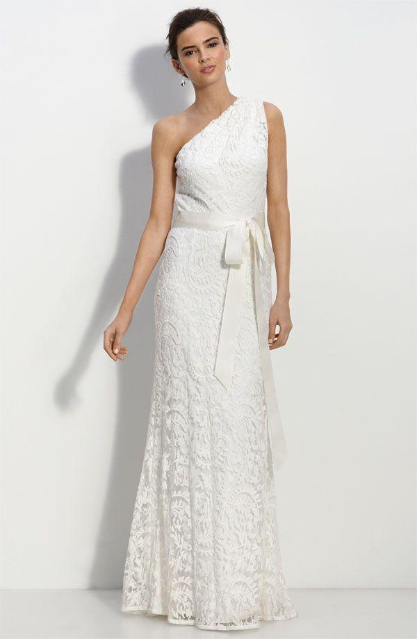 one shoulder wedding gowns | Bridal Dresses UK: Add Your Charm With One Shoulder Wedding Dresses