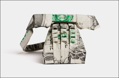 Dollar Origami - Phone