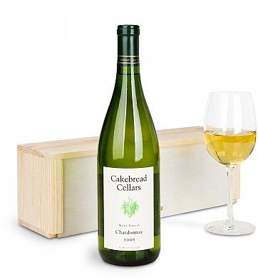 Personalized Wine Gifts: Cakebread Cellars Napa Valley Chardonnay