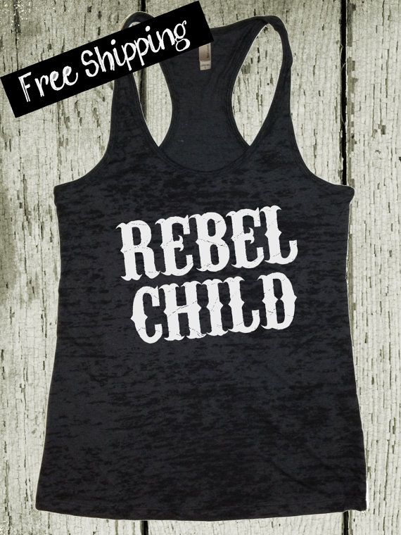 ReBeL CHiLD. Southern Girl Tank. Country Tank by BlessonsApparel, $26.00