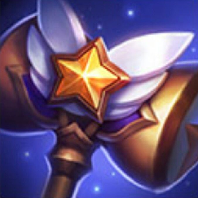 League of Legends - Star Guardian Icon / Light's Hammer (Poppy)                                                                                                                                                                                 More