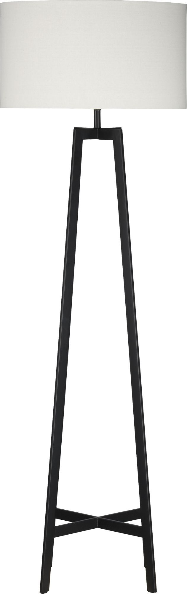 Castillo Black Floor Lamp  | Crate and Barrel