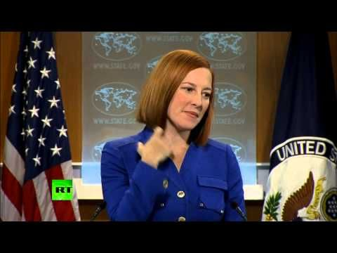 ▶ State Dept's Jen Psaki grilled over 'infringement of press freedom' - YouTube