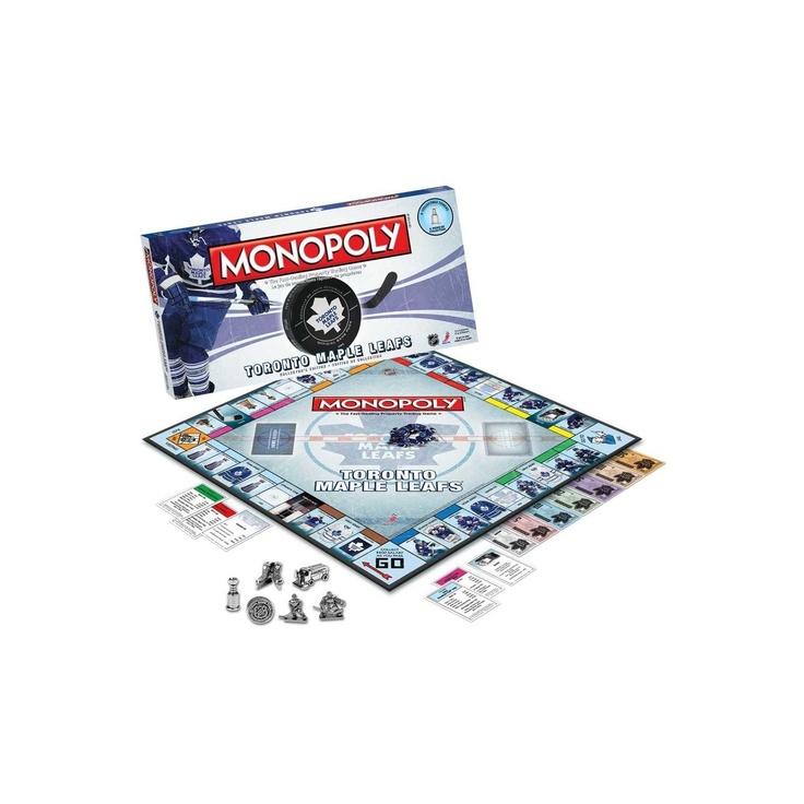 NHL Toronto Maple Leafs Monopoly Board Game, CDN $44.99