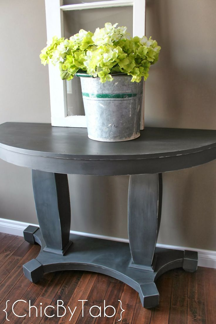 Really Cool Looking Graphite Tables Anne Sloan Graphite