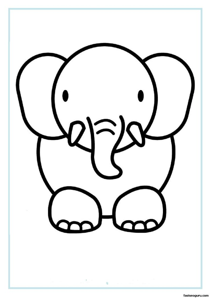 printable coloring pages animals 3