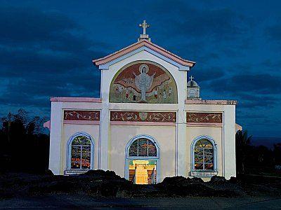 Notre Dame des laves - île de la Réunion