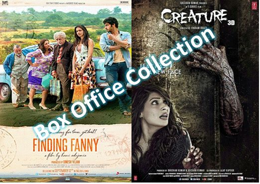 Box Office Collection: 'Finding Fanny' Shows Remarkable Growth on Day 2; 'Creature 3D' Dull