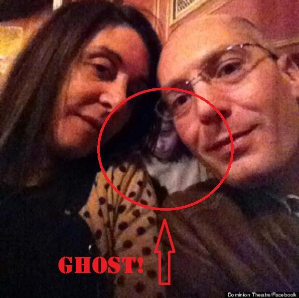 Check out the picture at the bottom of the page of a ghost caught on camera!  The ghosts of the Theatre Royal Drury Lane