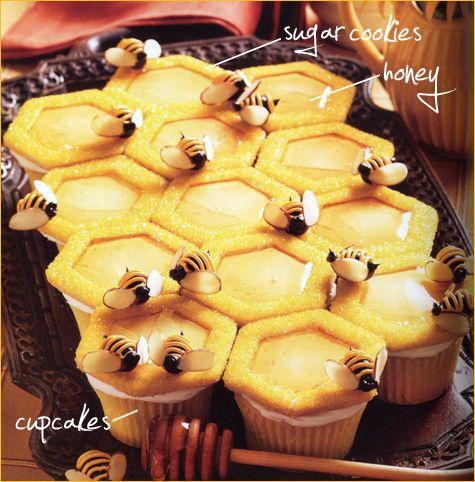 Honeybee Cupcakes