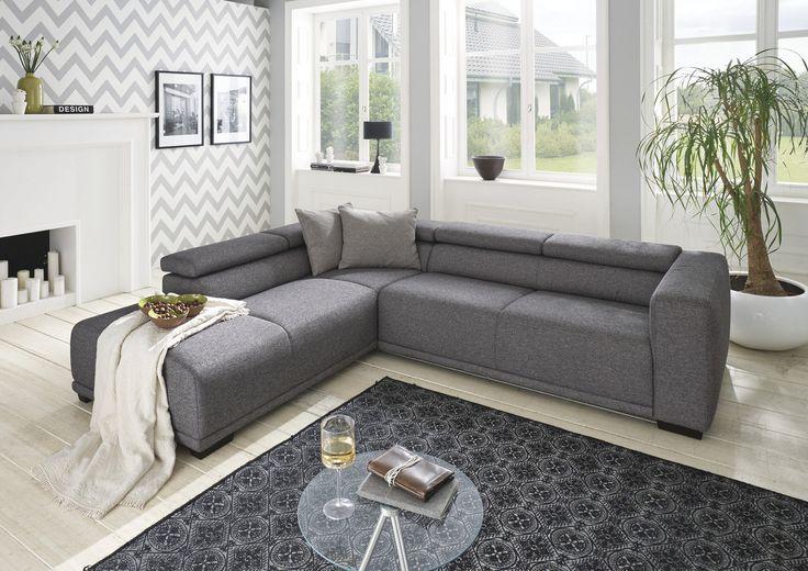 Garnitur AV Conil •• Rec RF li.2S RF re + Kissen Bez: C20035 ND anthrazit #Wohnzimmer #Sofa #Garnitur http://www.muellerland.de/sortiment/produkt/polsterecke-4/