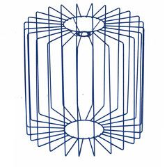 Wire Drum Shade