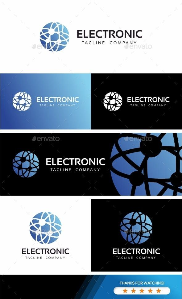 Global New Technologies Logo — Vector EPS #consulting #professional