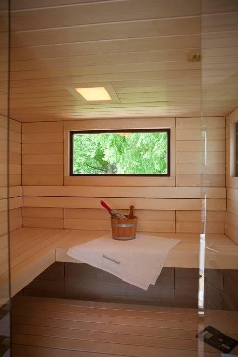 Außensauna Corsika: Skandinavisch Spa von corso sauna manufaktur gmbh